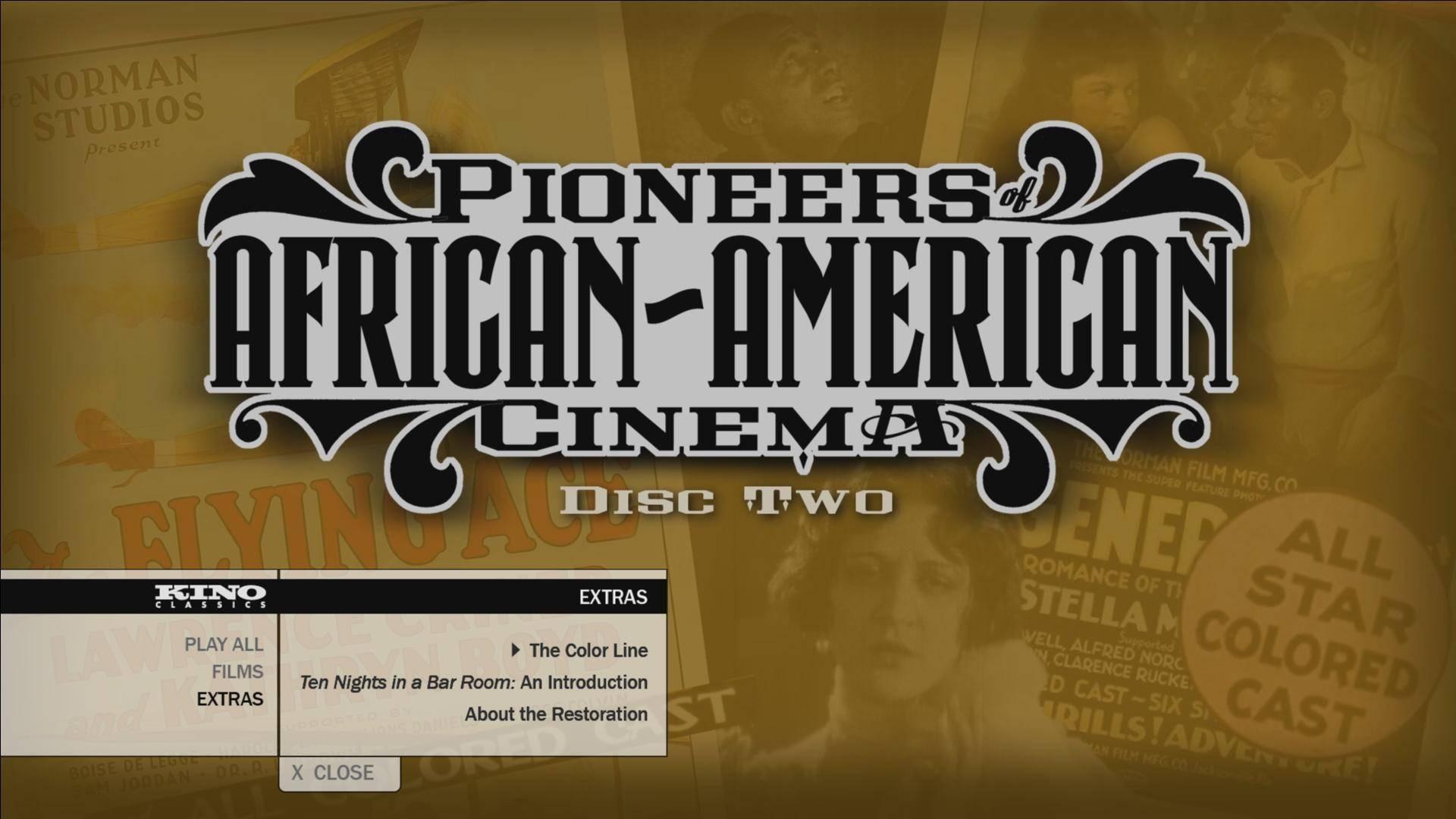 Pioneers of African-American Cinema (2015)