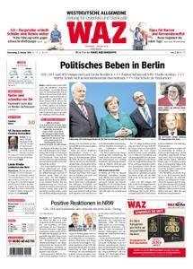 WAZ Westdeutsche Allgemeine Zeitung Oberhausen-Sterkrade - 08. Februar 2018