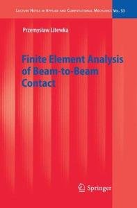 Finite Element Analysis of Beam-to-Beam Contact
