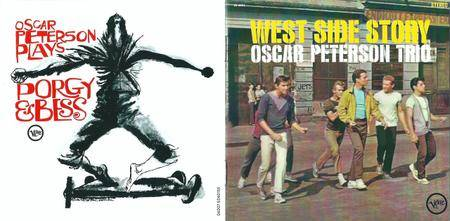 Oscar Peterson Trio - West Side Story + Play Porgy & Bess (2012) {2LP on 1CD, Remastered Reissue}