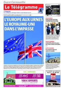 Le Télégramme Ouest Cornouaille – 25 mai 2019