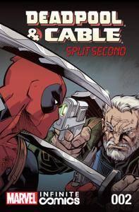 Deadpool  Cable - Split Second Infinite Comic 002 2015 digital