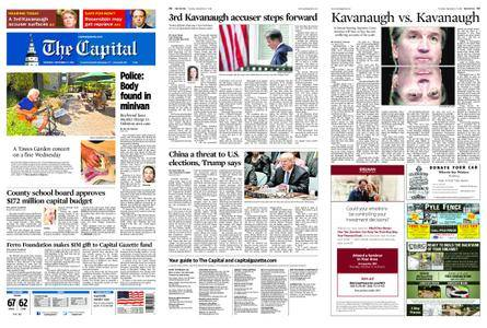 The Capital – September 27, 2018