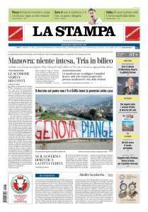 La Stampa Torino Provincia e Canavese - 27 Settembre 2018