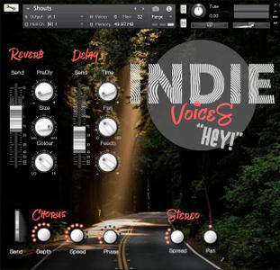 Splash Sound Indie Voices KONTAKT