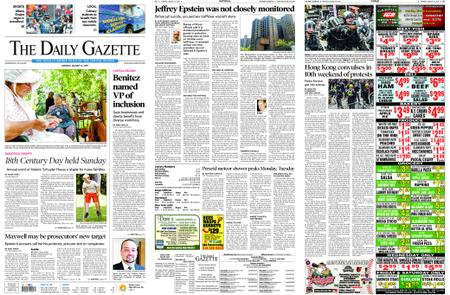 The Daily Gazette – August 12, 2019