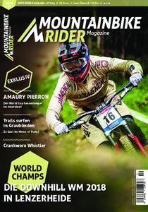 Mountainbike Rider – Oktober 2018
