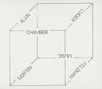 Anthony Burr and Charles Curtis - Chamber Music: Alvin Lucier & Morton Feldman (2019)