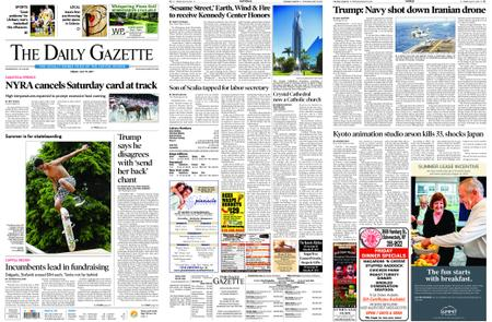 The Daily Gazette – July 19, 2019