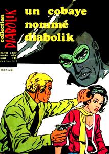 Diabolik - Série 3 - Tome 61 - Un Cobaye Nommé Diabolik