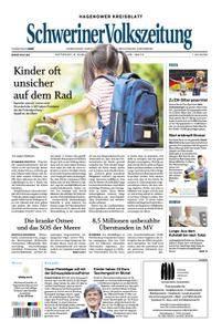Schweriner Volkszeitung Hagenower Kreisblatt - 08. August 2018