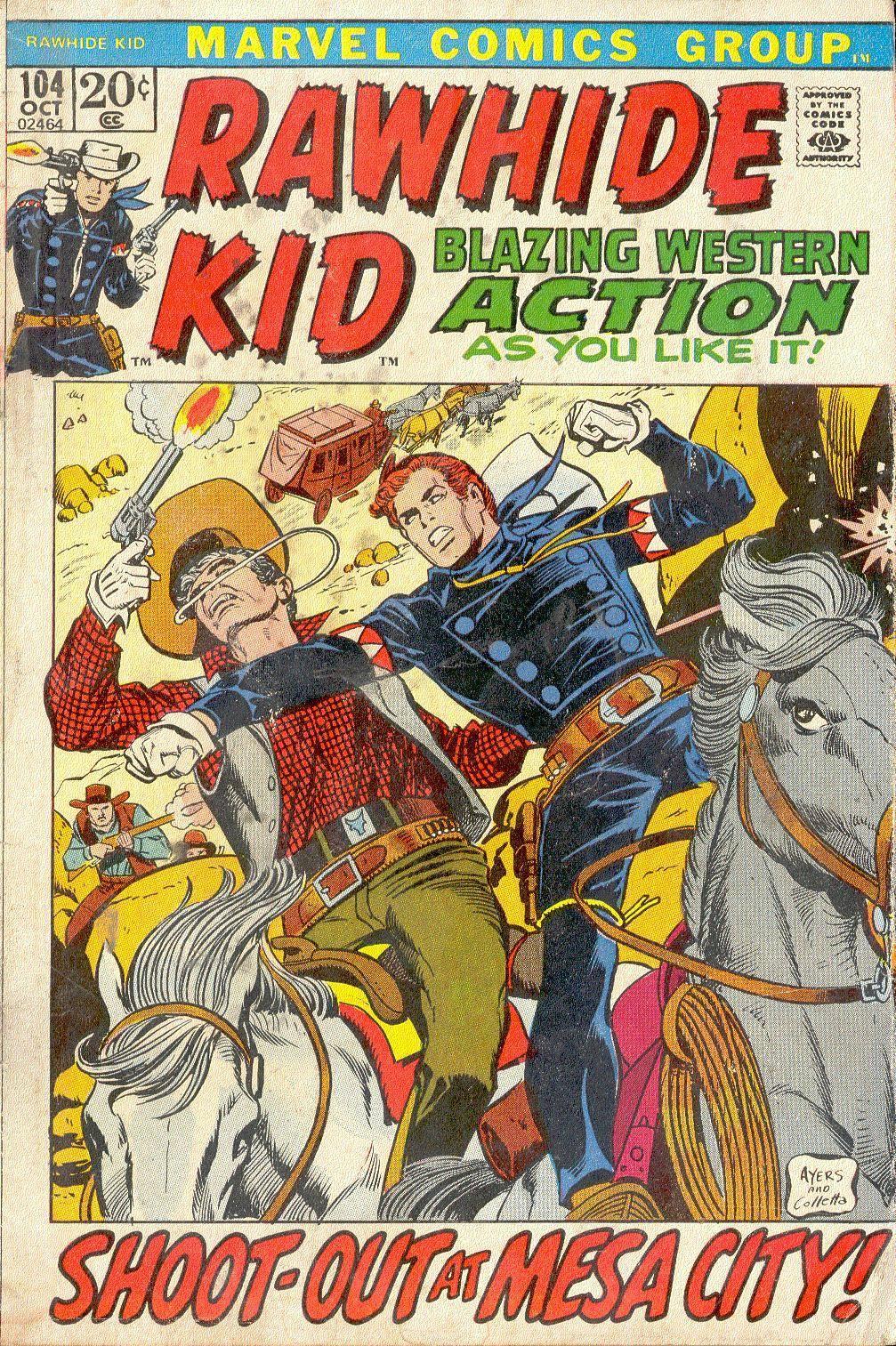Rawhide Kid v1 104 1972