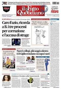 Il Fatto Quotidiano - 26 Novembre 2017