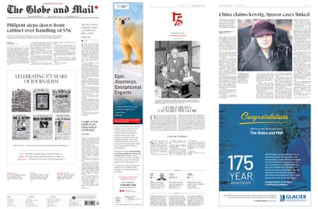 The Globe and Mail – March 05, 2019