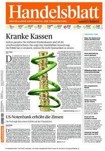 Handelsblatt - 17. Dezember 2015