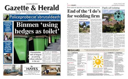 Gazette & Herald – October 08, 2020