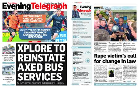 Evening Telegraph First Edition – April 16, 2019