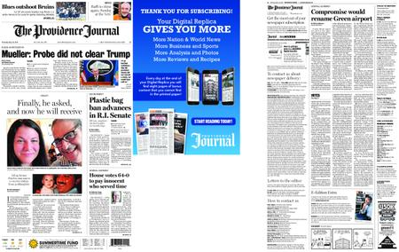 The Providence Journal – May 30, 2019