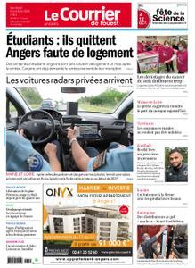 Le Courrier de l'Ouest Angers – 09 octobre 2020