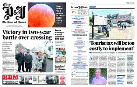 The Press and Journal Moray – January 22, 2019
