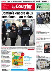 Le Courrier de l'Ouest Cholet – 13 novembre 2020