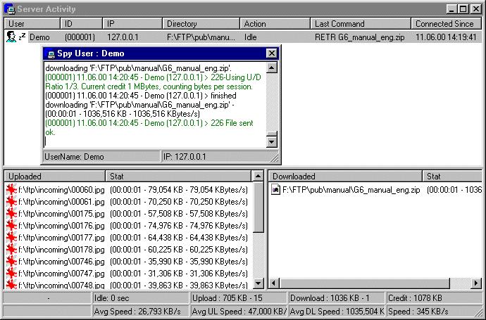 BulletProof FTP Server v2011.1.0.67