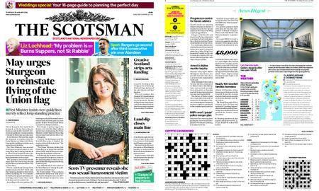 The Scotsman – January 25, 2018