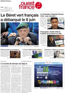 Ouest-France Édition France – 01 juin 2019