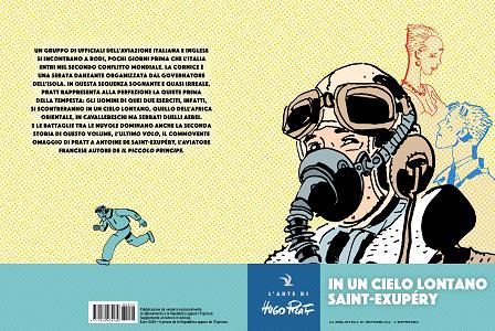 L'Arte Di Hugo Pratt - Volume 22 - In Un Cielo Lontano Saint-Exupery
