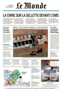Le Monde du Mardi 19 Mai 2020