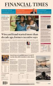 Financial Times Europe - March 24, 2021