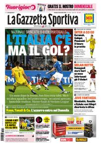 La Gazzetta dello Sport Roma – 18 novembre 2018