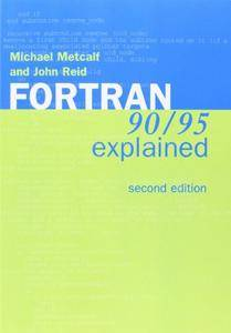 Fortran 90/95 Explained(Repost)