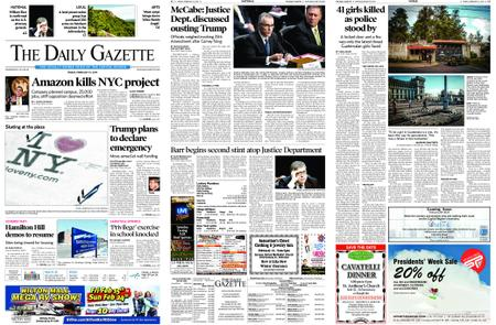 The Daily Gazette – February 15, 2019