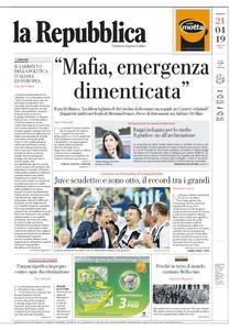 la Repubblica – 21 aprile 2019
