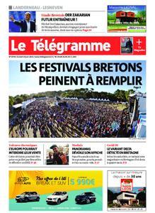 Le Télégramme Landerneau - Lesneven – 19 juin 2021