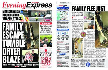 Evening Express – September 12, 2017