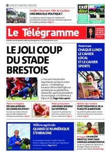 Le Télégramme Brest Abers Iroise – 14 septembre 2020