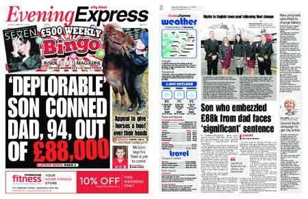 Evening Express – February 17, 2018