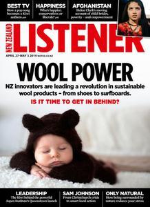 New Zealand Listener - April 27, 2019