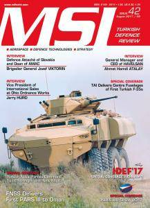 MSI Turkish Defence Review - Issue 42 - August 2017