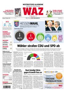 WAZ Westdeutsche Allgemeine Zeitung Oberhausen-Sterkrade - 29. Oktober 2018