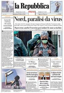 la Repubblica - 23 Febbraio 2020