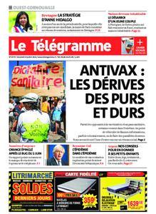 Le Télégramme Ouest Cornouaille – 23 juillet 2021