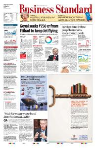 Business Standard - March 12, 2019