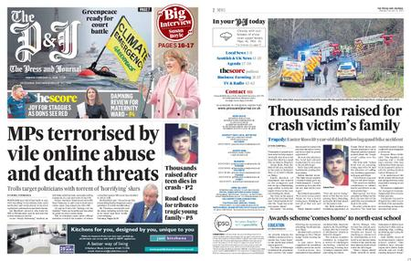 The Press and Journal Moray – February 24, 2020