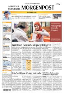 Solinger Morgenpost – 20. Dezember 2019