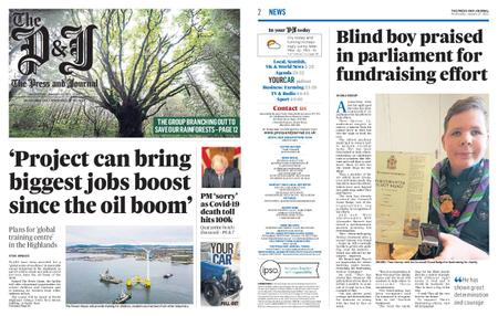 The Press and Journal Moray – January 27, 2021