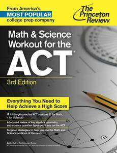 Math and Science Workout for the ACT