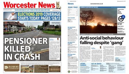 Worcester News – April 24, 2019